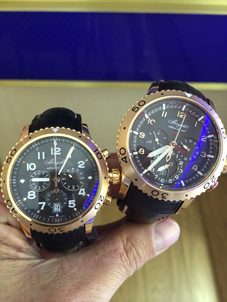 Today's choice of Breguet  Needed them both.