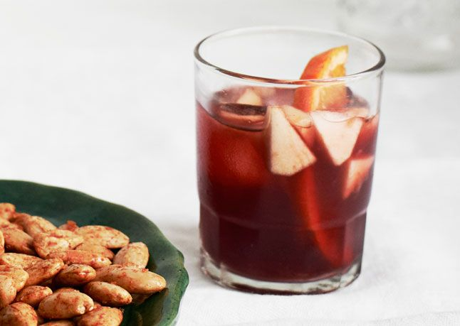 This lightly spiced sangria is packed with green apple and citrus flavor.