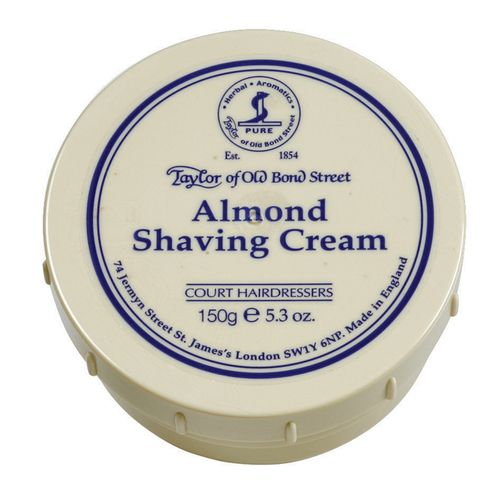 Taylor of Old Bond St Shaving Cream in Bowl Almond