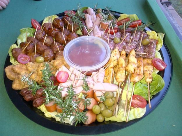 Wow ....Party food -- platters