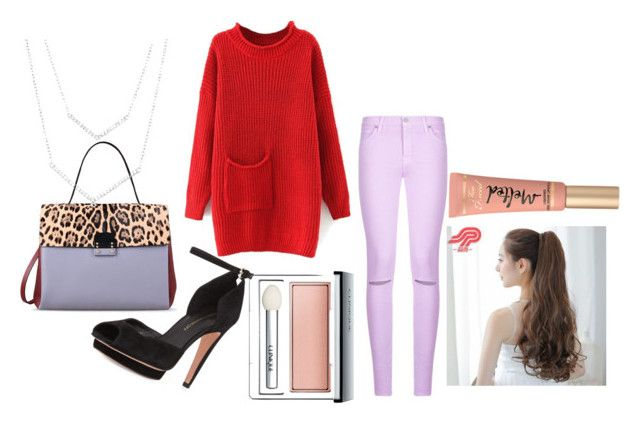 """""""Winter set 02: Duke game tonight! Wish I was there :)"""" by anikivance ❤ liked on Polyvore featuring Rebecca Minkoff, Valentino, Clinique, 7 For All Mankind, Pin Show and Too Faced Cosmetics"""