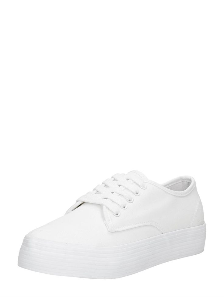 Visions plateau sneakers voor dames - wit