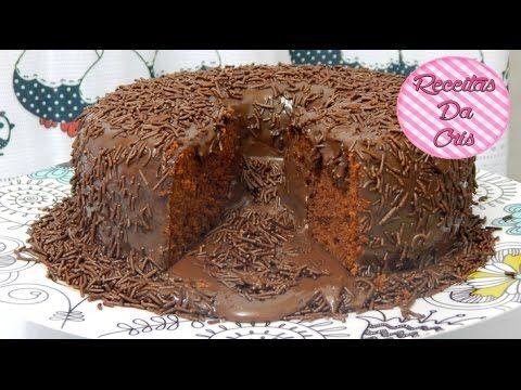 [ESPECIAL DIA DAS CRIANÇAS]Bolo Vulcão De Chocolate!! - YouTube