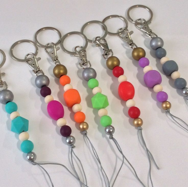 Perfect for end of year teacher gifts or stocking fillers. Just $5.95. Bright colourful Keyrings. Never lose your keys in your bag again!