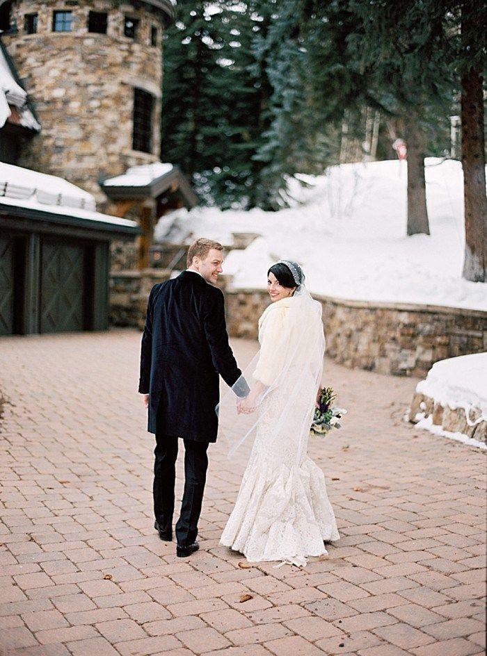 Black Tie Vail Winter Wedding