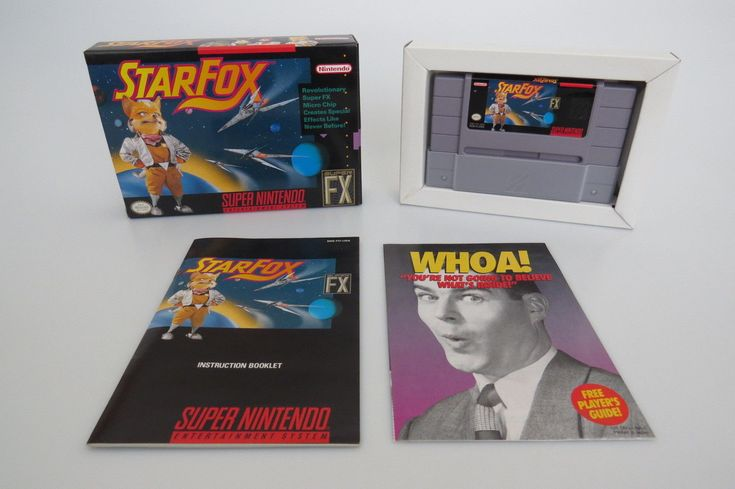 Super Nintendo STARFOX SNES Video Console Game FX Complete Box Manual Tested: $49.99 (0 Bids) End Date: Tuesday Mar-20-2018 18:10:18 PDT…