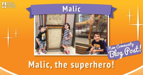 March of Dimes Canada ~ Meet Malic, Our Superhero! #WATWB – Professor Owl's Book Corner - https://professorowlsbookcorner.wordpress.com/2017/09/28/march-of-dimes-canada-malic-superhero/ - https://professorowlsbookcorner.wordpress.com/2017/09/28/march-of-dimes-canada-malic-superhero/