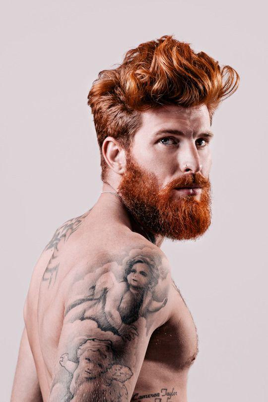 Jonny Kaye Red hair + Beard + Silky Curly Hair??? Shoosh, that's so unfair...
