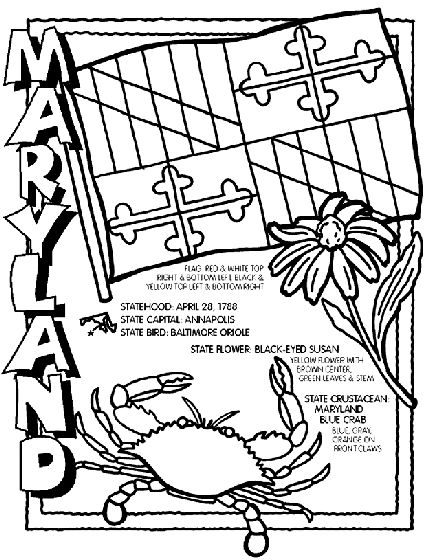 #Maryland State Symbol Coloring Page by Crayola. Print or color online.