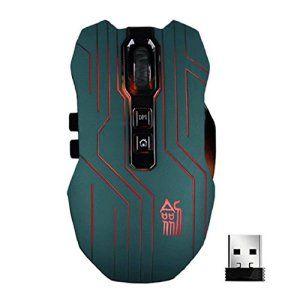 Chianrliu 9d 3200dpi Optique 2,4 G Wireless Gaming Mouse Pour Dota Fps Ordinateur Portable Pc