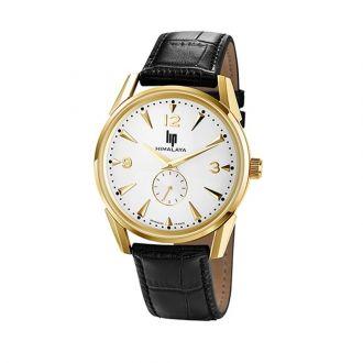 Montre LIP Himalaya 671242 Un bracelet en cuir et un design sobre et élégant ! Choisissez cette montre #LIP