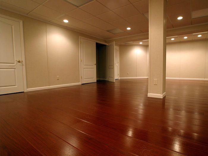 Laminate Wood Flooring In Basement