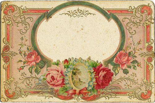 Name tagVintage Postcards, Vintage Scrapbook, Vintage Labels, Blank Vintage, Antiques Vintage, Laminae Vintageantiguasretro, Call Cards, Beautiful Vintage, Laminae Vintage Ancient Retro