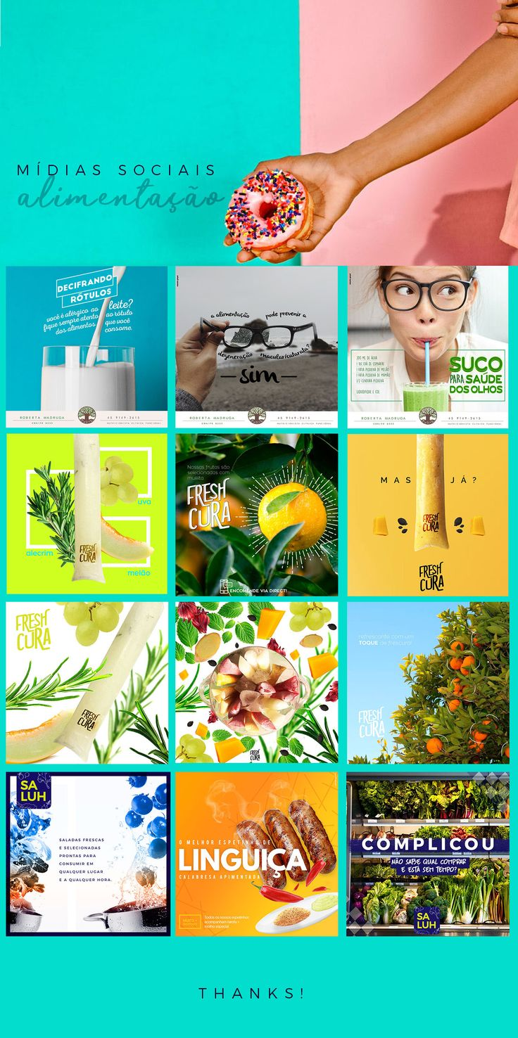Social Media | Alimentação on Behance
