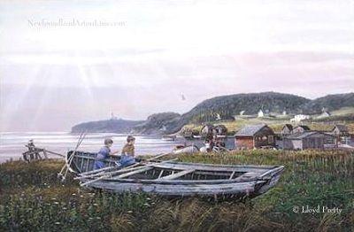 Newfoundland Art - Lloyd Pretty