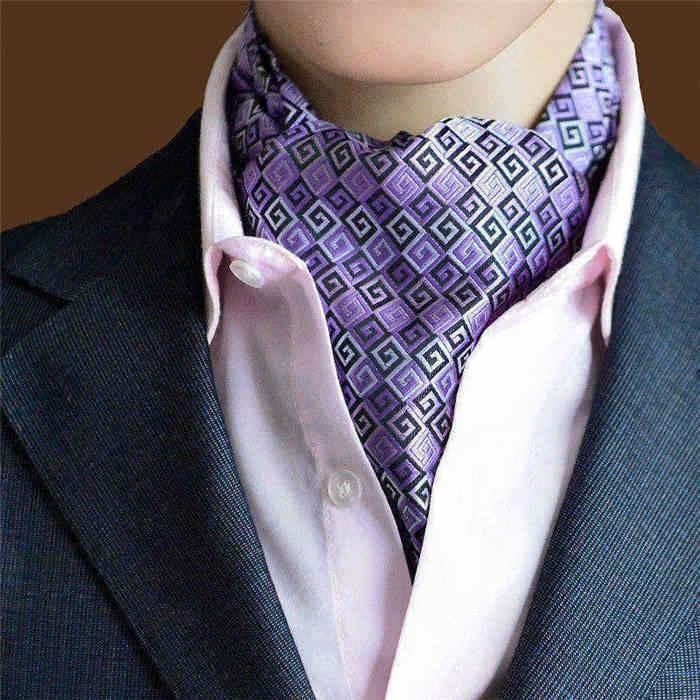 Men's Ties Scarves cravat ascot fashion