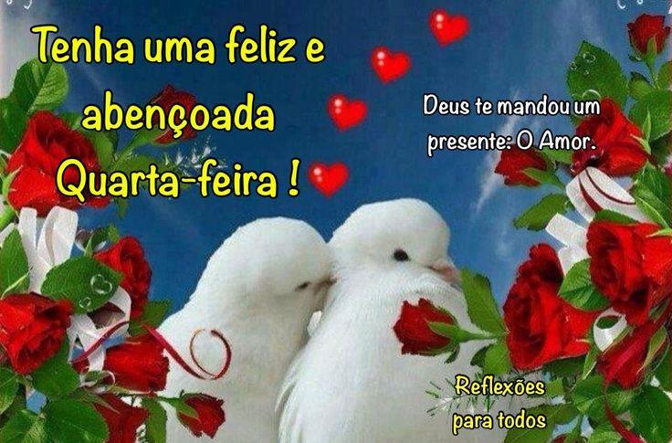 Bom Dia. Feliz e abençoada Quarta-feira.  Acesse o lindo poema de Carlos Drummond de Andrade, sobre o Amor!