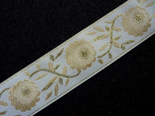 Sew on Embroidered Lace ribbon trim band Cushion edging VARIOUS sold per metre   eBay
