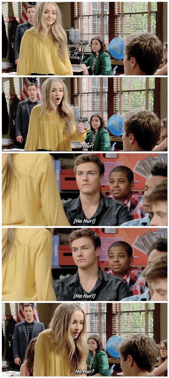 """#GirlMeetsWorld 3x01 """"Girl Meets High School: Part One"""" - Maya and Lucas"""