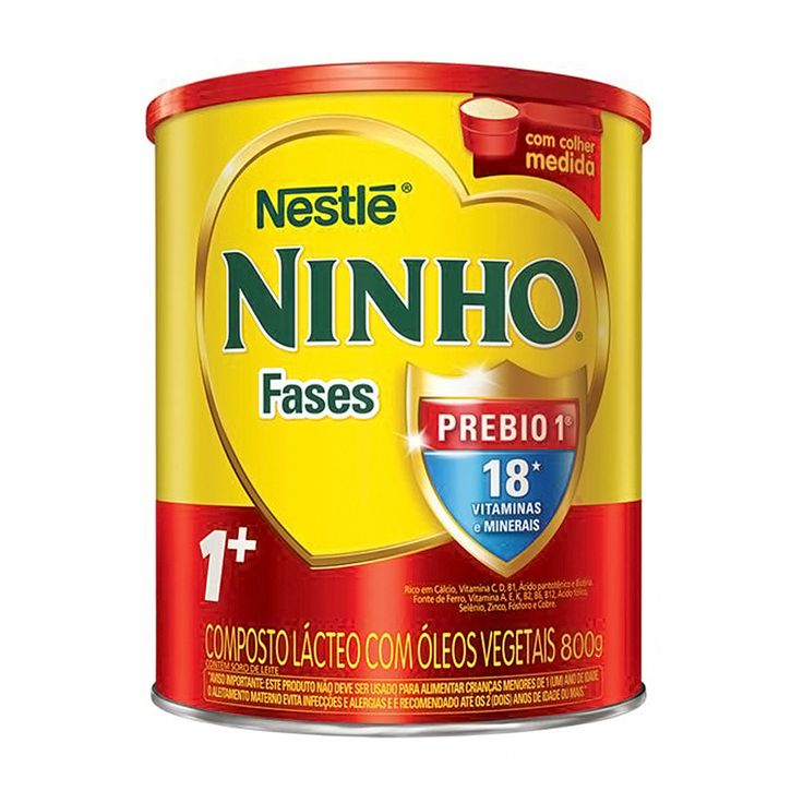 Leite Ninho Fases 1+ 800g em promoção na Drogaria São Paulo