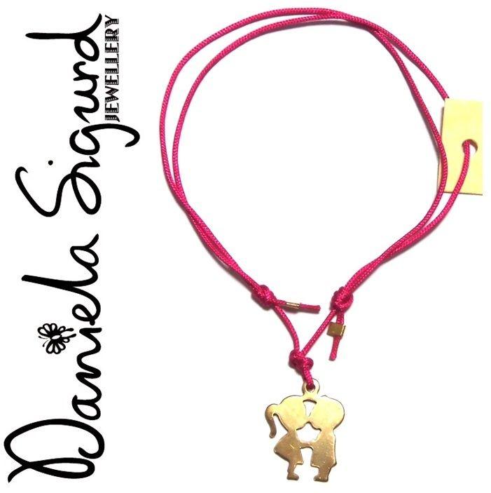 daniela sigurd jewelry ダニエラシグルドジュエリー キス カップル ブレスレット ロマンチック な 2人 ブレスレッド ぶれれっと ロンドン 海外 ブランド