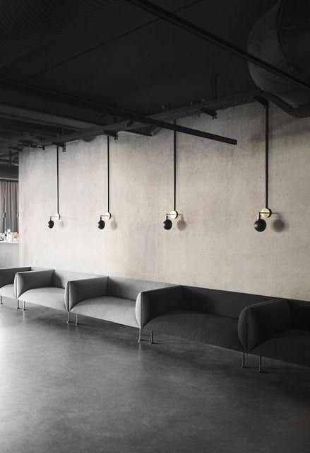 Space menu: the new office and showroom space beautiful café in Copenhagen | ARC ART blog by Daniele Drigo
