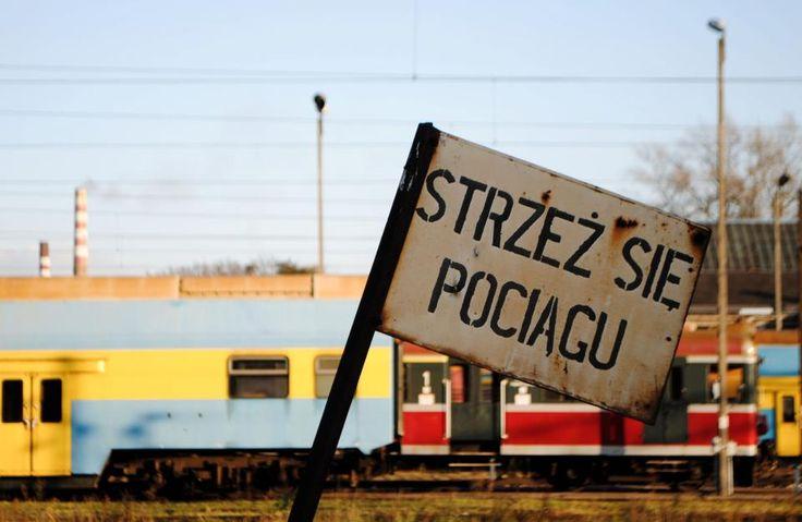 Strzeż się pociągu fot. Anna Bargieła