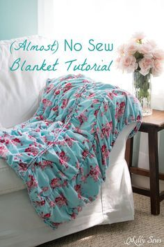 1000 Ideas About No Sew Blankets On Pinterest Tie