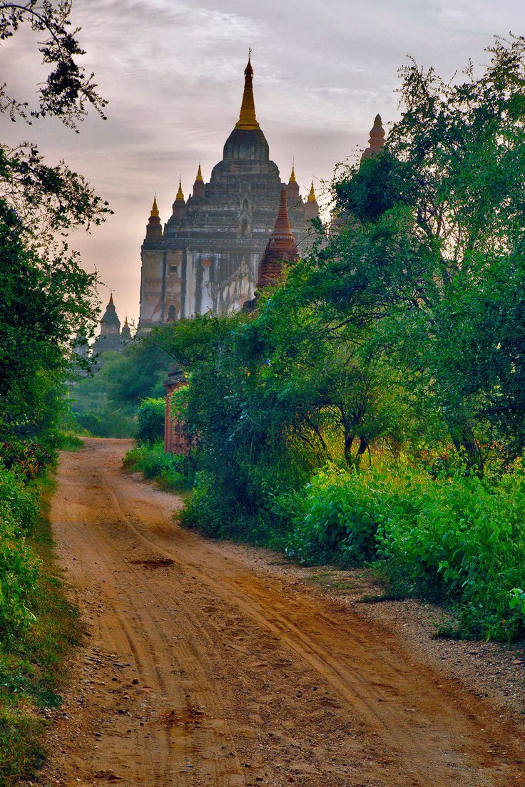 Bagan, formerly Pagan, is an ancient city in the Mandalay Division of Myanmar/Burma    Early Morning In Bagan 1 by CitizenFresh
