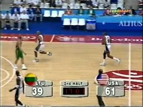 1992 Olympics G7 Usa vs Lithuania Semifinal