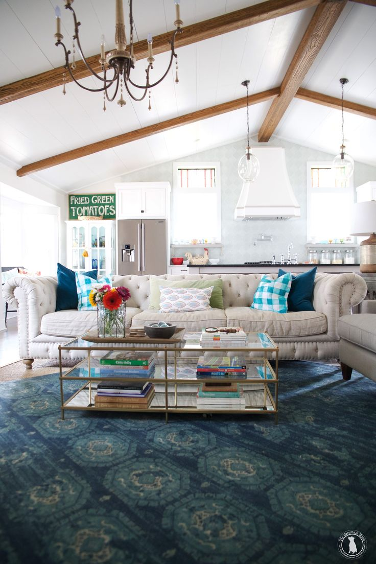 69 best Living Rooms images on Pinterest | Beach houses, Cottage ...