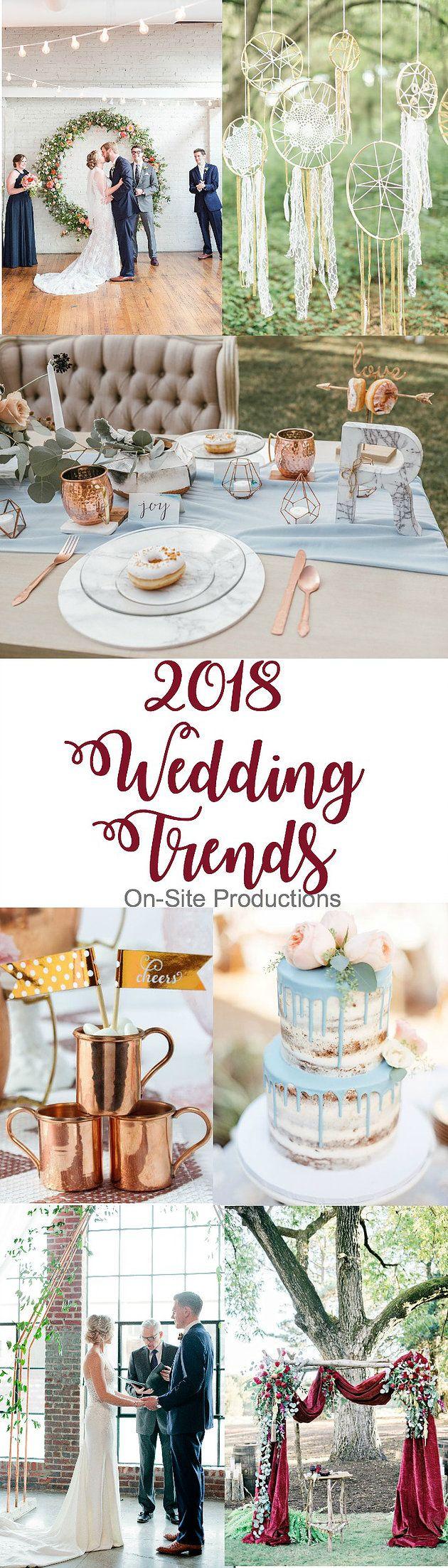 2018 Hochzeitstrends werden Sie sicher nicht enttäuschen! MARMOR. KUPFER. VELVET und bald m …   – Fotografie – Styled Shoot
