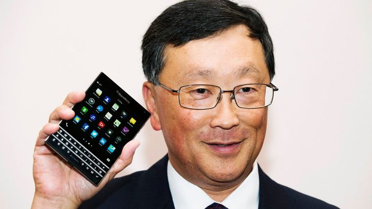 The company, whose chief executive, John S. Chen, arrived in November, is hoping that the new Passport phone will put BlackBerry back on the board, even if only modestly.