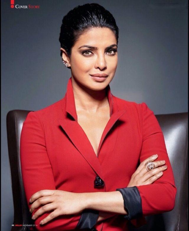 Global Celebrity Priyanka Chopra turned cover girl for Hello Magazine for the November edition. ...