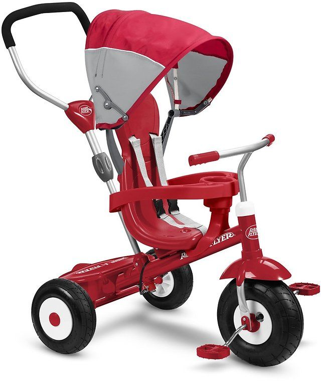 Radio Flyer All-Terrain Stroll 'N Trike Ride On $87.74 (amazon.com)