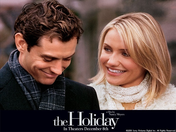 The HolidayChristmas Time, Great Movie, Jude Law, Holiday Movie, Watches Movie, Cameron Diaz, Favorite Movie, Chicks Flicks, The Holiday