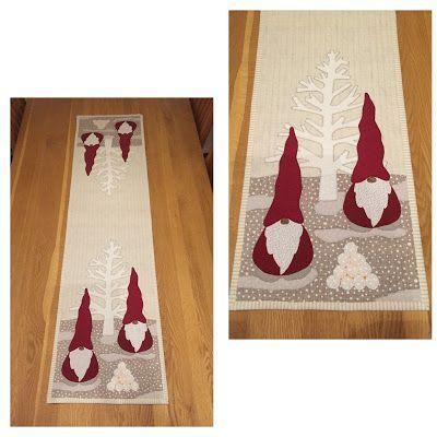 34 best quilts on the ta daaa list images on pinterest for Instructions to make christmas table decorations