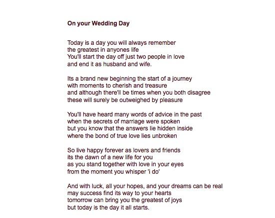 83 Best Wedding Reading Ideas Images On Pinterest