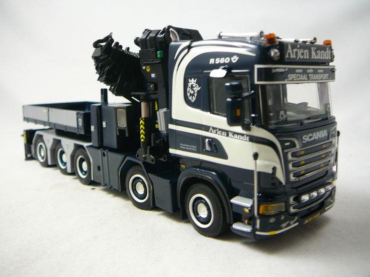 Scania R(6) Highline 10X4 Tracteur Routier + Palfinger PK 150002 + Jib Arjen Kandt Miniature 1/50 WSI http://www.freeway01.com/scania-r6-highline-10x4-tracteur-routier-palfinger-pk-150002-jib-arjen-kandt-miniature-150-wsi-xml-251_286-6661.html