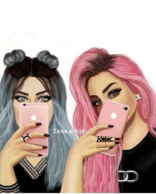 Me And Besty Freinds In 2019 Bff Drawings Drawings Of Friends