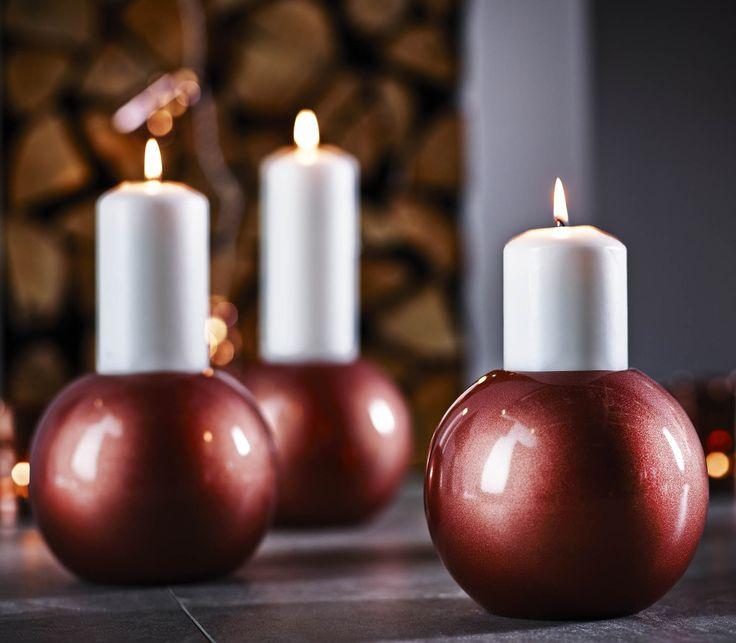 VINTER kaarshouder | #IKEA #IKEAnl #kerst #decoratie #interieur #koper #kaars #verlichting #sfeer