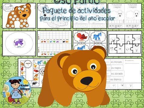 Kickstart your day with a good video! ⚡️Oso pardo (Paquete de actividades) Brown bear in Spanish https://youtube.com/watch?v=AnLWwusR9VA