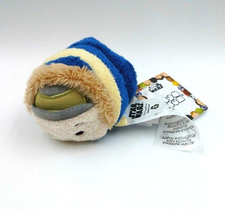 Disney Mini Tsum Tsum Star Wars HAN SOLO Hoth 3.5 inch Plush Blue Stuffed Soft #Disney