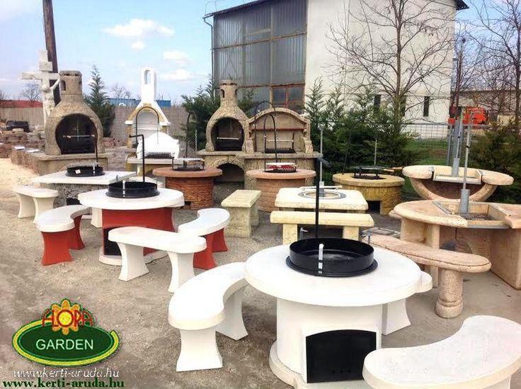 Magyarország legnagyobb kerti grill választékával várjuk Önt! Halásztelki lerakatunkban kőből készült szalonna sütök, bográcsozók kerti grillezők.