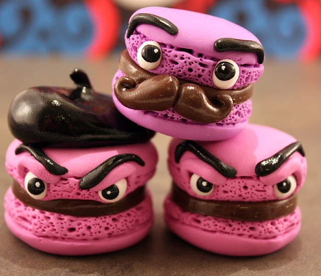 Manly macaroons
