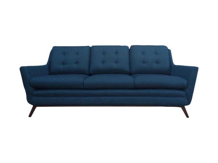 Mid Century Modern Style Scandinavian Sofa on Chairish.com