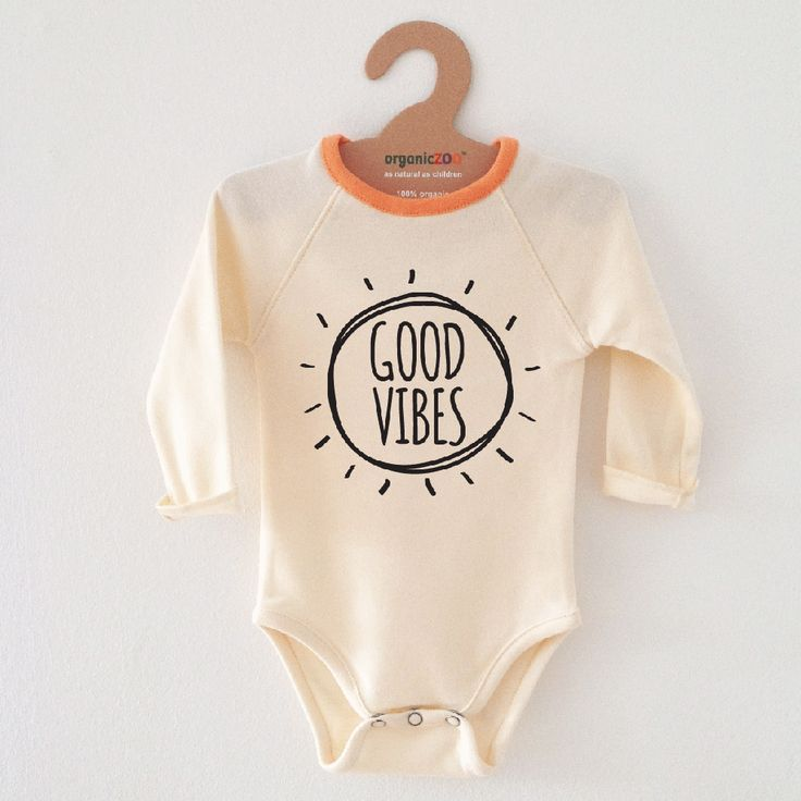 Natural Good Vibes Bodysuit via organiczoo. Click on the image to see more!
