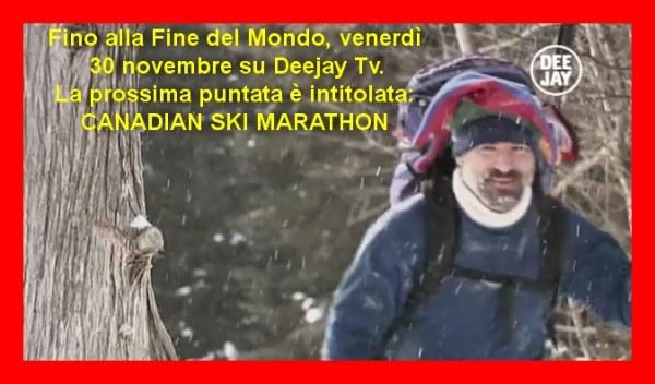 Un nuovo appuntamento con l'Avventura, questa sera Canadian ski marathon vi lascerà senza fiato #finedelmondo #sport #sportestremi