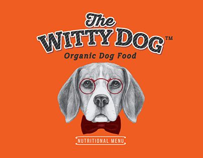 """Check out new work on my @Behance portfolio: """"The Witty Dog""""…"""