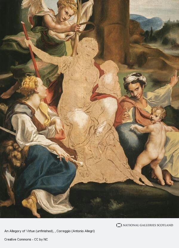 Allegoria della Virtù.  National Gallery of Scotland.